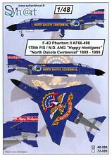 Syhart Decals 1/48 F-4D PHANTOM II 178TH FIS North Dakota Centennial Scheme