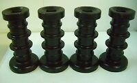 """HARROW DISC SPOOL SPACER 7 1/2"""" RIBBED 1"""" SQ AXLE Universal New **LOT OF 4**"""