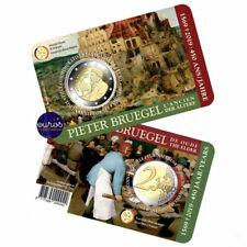 Coincard 2 euros BELGIQUE 2019 : FLAMAND - 450 ans Pieter Bruegel l'Ancien - BU