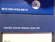 1965 1966 1967 Special Mint Set SMS Run Original Envelopes Boxes 15 US Coins Lot