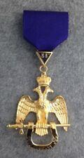 33rd Degree Jewel - Wings Down