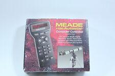 Meade #495 Autostar Computer Controller for Digital Electronic Telescope w/box
