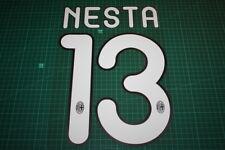 AC Milan 11/12 #13 NESTA Homekit / 3rd Awaykit Nameset Printing