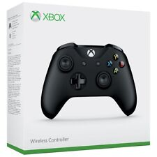 CONTROLLER WIRELESS XBOX ONE - XBOX ONE S - PAD NERO PC MICROSOFT JOYPAD NUOVO