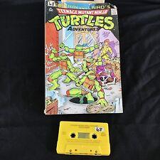 Turtles Adventures Beastman Ninja Comic style Read Along Book & Recording Tape