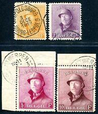 BELGIEN 1919 1655-158 gestempelt AUSGESUCHT SCHÖN 730€++(S1125