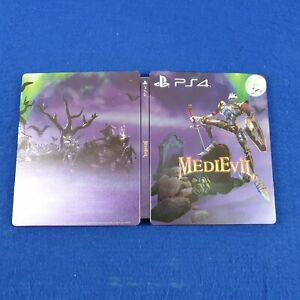 MEDIEVIL STEELBOOK Casing ONLY UK EXCLUSIVE *NEW* (G2 Size PS4 Xbox One)