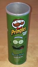 Pringles Pickle Rick And Morty Special Edition Empty Can Potato Crisps Cannister