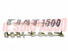 PRINT INITIALS REAR FIAT 1500 COUPE SPIDER ORIGINAL