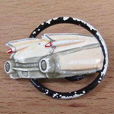 ESTATE Vintage Brooch JJ Designer Signed Enamel 50's Car RARE Costume Jewelry