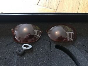 Polaris MTB Glasses Lenses, Brand New, Orange Low Light, Goggles Glare