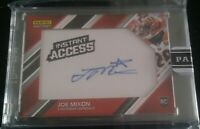 Joe Mixon 2017 Panini Instant Access Uncirculated Rc On Patch Auto Sp #ed 10/10
