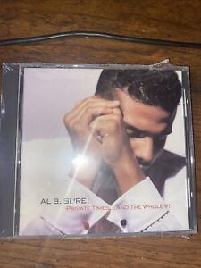 """""""Al B. Sure!"""" - """"Private Times...And The WHOLE 9!"""" - Warner Bros Brand New CD"""