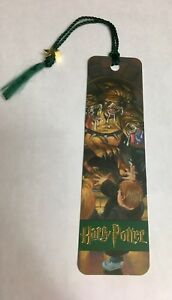 Harry Potter Bookmark Collectible Scholastic New Old Stock Fluffy 3 Headed Dog