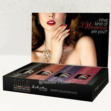 Artistic Nail Design Colour Gloss SET 4 ACG WINTER 2012 Collection Pack Set