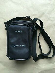 Sony Cybershot camera bag pouch with shoulder strap and front pocket, excellent!