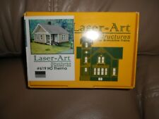LASER ART STRUCTURES       THELMA HOUSE        FACTORY SEALED      HO SCALE