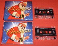 CHRISTMAS - THE ALBUM- UK CASSETTE TAPE X 2 - VARIOUS ARTISTS