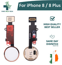 For iPhone 8 / iPhone 8 Plus Home Button Fingerprint Touch ID Flex Cable Gold