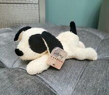 Vintage 1997 Russ Berrie Home Buddies Ringo Puppy Dog PVC bean plush terry cloth