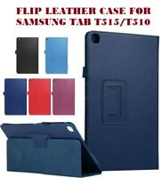 """Folio Leather Flip Stand Case Cover For Samsung Galaxy TabA T510-T515 2019 10.1"""""""