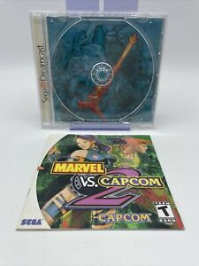 * CASE AND MANUAL ONLY * Marvel vs. Capcom 2 for Sega Dreamcast Authentic