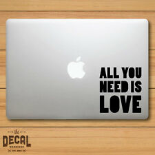 The Beatles All you need is love Macbook Sticker / Macbook Decal / Cover / Skin