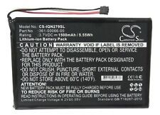Replacement better CS-IQN279SL 3.7V 1500mAh Li-ion 4.07Wh GARMIN Nuvi 30 Nuvi 50