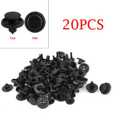 20pcs Car Auto 7mm Bumper Hood Splash Guard Retainer Clip Fastener For Toyota