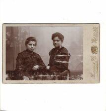 CDV Foto Feine Dame mit Mädchen - Barmen um 1900