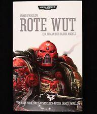 Warhammer 40.000 - Rojo Rabia Von James Swallow (2013, Libro de Bolsillo)