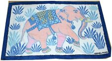 Hermes Beach Towel Bath Mat Elephant Cotton Ornament Rug - NEVER USED Authentic