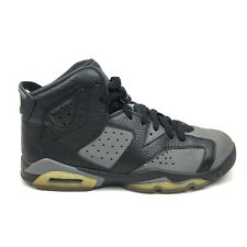 2015 Nike Air Jordan 6 VI Retro Sneakers Mens Youth Size 7 Black Shoe 384665-010