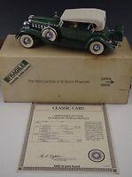 DANBURY MINT 1932 CADILLAC V-16 SPORT PHAETON CAR MODEL 1:24 SCALE DIE CAST #3