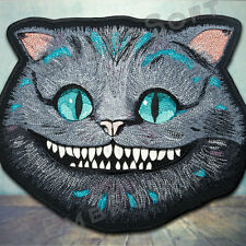 Cheshire Cat Large Embroidered Patch IRON ON 10.8 x 9 inches | 27.4 cm x 23 cm
