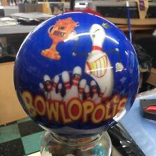 Bowling Ball Bowlopolis Viz-a-ball  6 LB youth kids Undrilled KBG1240 USBC