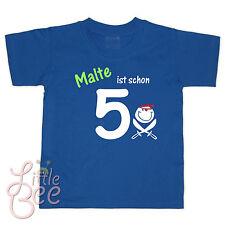 Geburtstagsshirt * Wunschname ist schon 5 * Wahl: MOTIV, Größe, Farbe ! NEU !