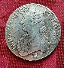 Ecu aux Branches d'olivier Louis XVI 1777 I