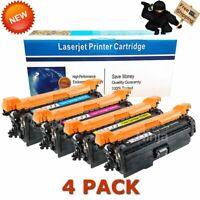 Toner for HP CE400A 507A LaserJet 500 Color M551 M551dn  M57 M575dn | 4 Pack Set