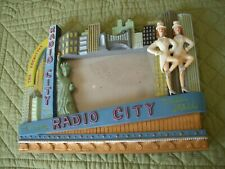 Rockettes Radio City Souvenier Picture Frame for Your Photo
