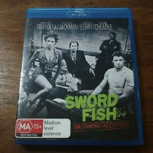 Swordfish Blu-Ray LIKE NEW! FREE POST