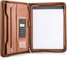 Premium Business Portfolio With Zipper Padfolio Superior Business Impression Pad