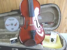 STENTOR STUDENT VIOLIN 1/2 SIZE + CASE & BOW GREAT CONDITION + FREE EXTRAS