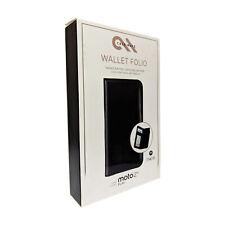 Case-Mate Wallet Folio Case for Moto Z2 Play - Black