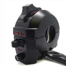 Motorcycle Universal Handlebar Control Switch Light Horn Indicators Bar ATV RD