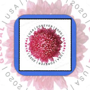 2020  CHRYSANTHEMUM  GLOBAL Genuine USPS Forever®  MINT Stamp w/Die Cut  #5460