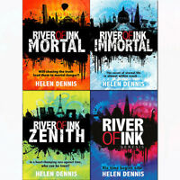 River of Ink Series Helen Dennis 4 Books Collection Pack Set NEW Genesis,Zenith