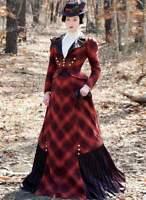 Schnittmuster Viktorianisches Kostüm Gr.38-44