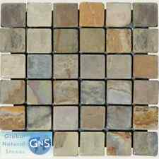 MULTI SELECT MOSAIC SLATE TILES FOR FLOORS BATH KITCHEN