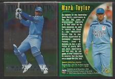 FUTERA 1996 CRICKET ELITE MARK TAYLOR TEAM LEADER CARD No 25